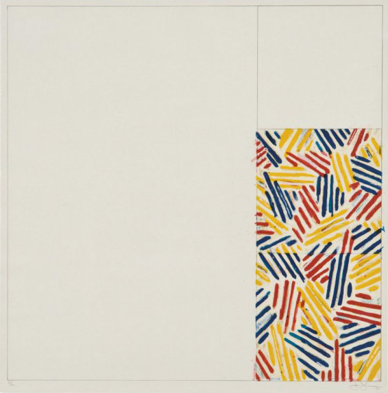 JASPER JOHNS - #4, FROM 6 LITHOGRAPHS (AFTER
