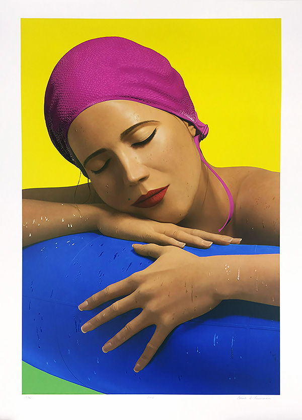 CAROLE A FEUERMAN - SERENA WITH PINK CAP