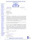 CELEBRITY & PRESS - Aventura Jewish Center Letter 2010