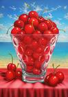 DAN MEYER - CHERRIES AT THE BEACH