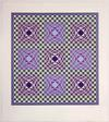 VICTOR VASARELY - PURPLE SQUARES