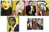 FREDERICK BROWN - JAZZ MUSICIANS, SUITE OF 6