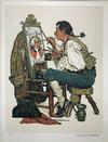 NORMAN ROCKWELL - YE PIPE AND BOWL