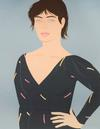 ALEX KATZ - GREY DRESS