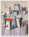 THIEBAUD, WAYNE - PAINT CANS