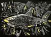 MARKO GAVRILOVIC -  Predatory cruise, acrylic on board, artist Marko Gavrilovic,