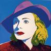 WARHOL, ANDY - INGRID BERGMAN WITH HAT FS II.315
