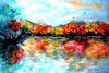 BEV FISHMAN - Autumn Lake