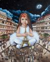 TATYANA DENISOVA - Series of Paintings: Kids & Cities. Paris