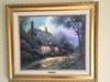 THOMAS KINKADE - Moonlight Cottage