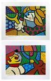 BRITTO, ROMERO - TENNIS SUITE (EMBELLISHED)