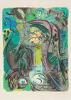 ANDRE MASSON - COMPOSTION AU SOUS BOIS