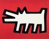 KEITH HARING - RED DOG