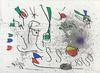 JOAN MIRO - UNTITLED (FROM HOMAGE TO PICASSO)