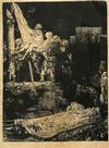 VAN RIJN REMBRANDT - THE DESCENT FROM THE CROSS BY TORCHLIGHT