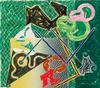 FRANK STELLA - SHARDS V