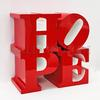 ROBERT INDIANA - HOPE (RED/WHITE/RED)