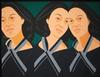 ALEX KATZ - GREY RIBBON