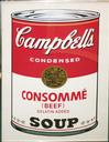 WARHOL, ANDY - CAMPBELLS - CONSUMME BEEF SUNDAY B. MORNING