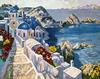 HOWARD BEHRENS - SANTORINI AFTERNOON